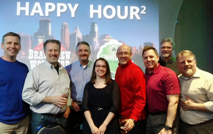Daily Volunteers in Happy Hour Squared