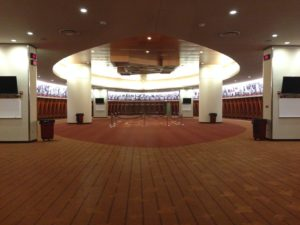 Gopher locker room
